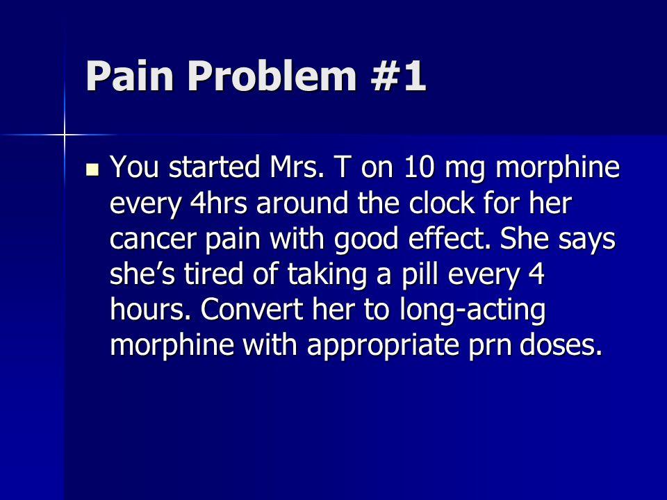 Pain Problem #1