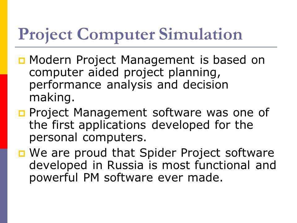 Project Computer Simulation