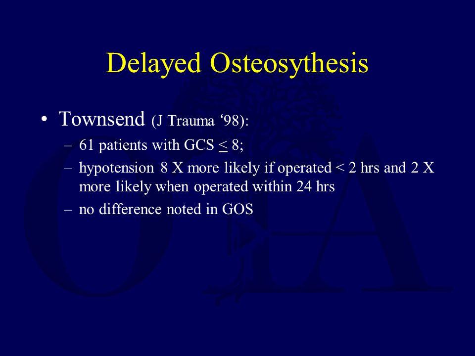 Delayed Osteosythesis