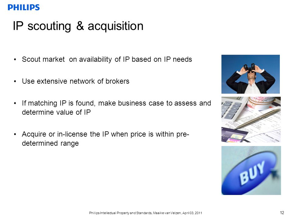 IP scouting & acquisition
