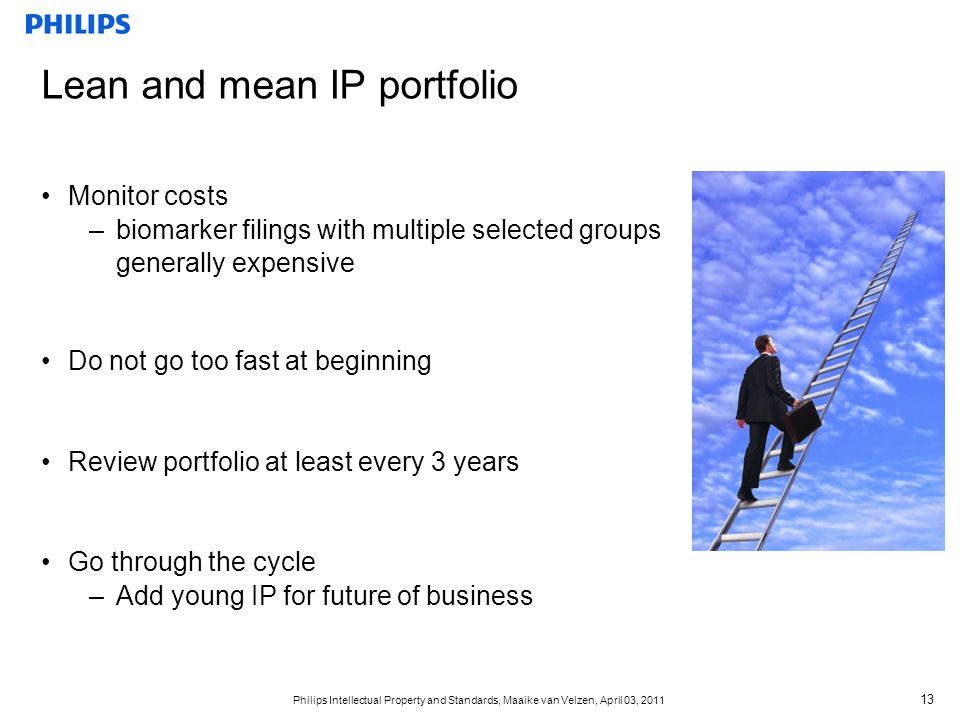 Lean and mean IP portfolio
