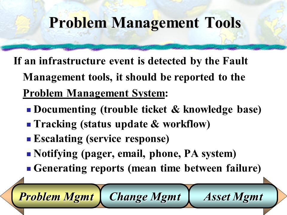 Problem Management Tools