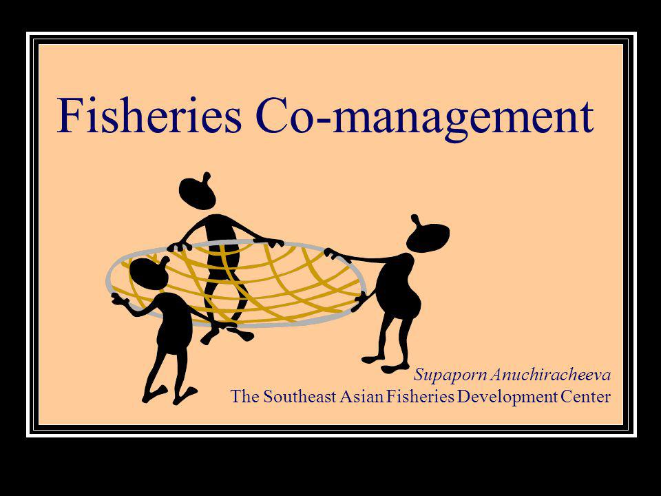 Fisheries Co-management