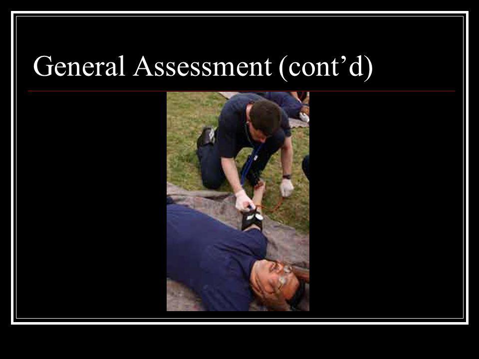 General Assessment (cont'd)