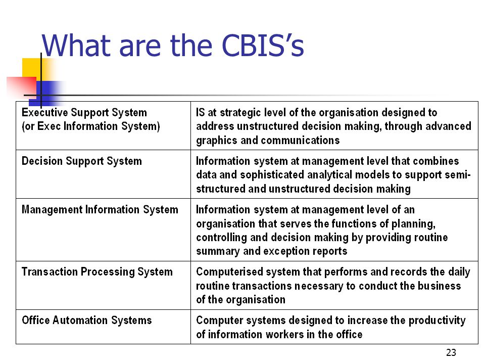 3/31/2017 What are the CBIS's IS447 Strategic Management of Information