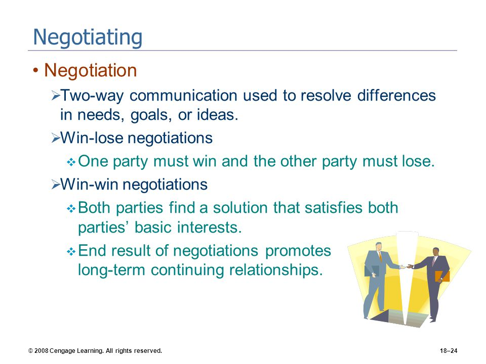 Negotiating Negotiation