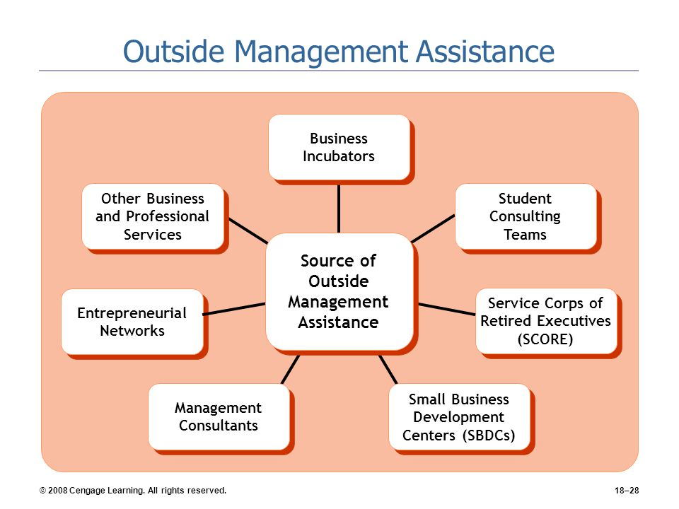 Outside Management Assistance