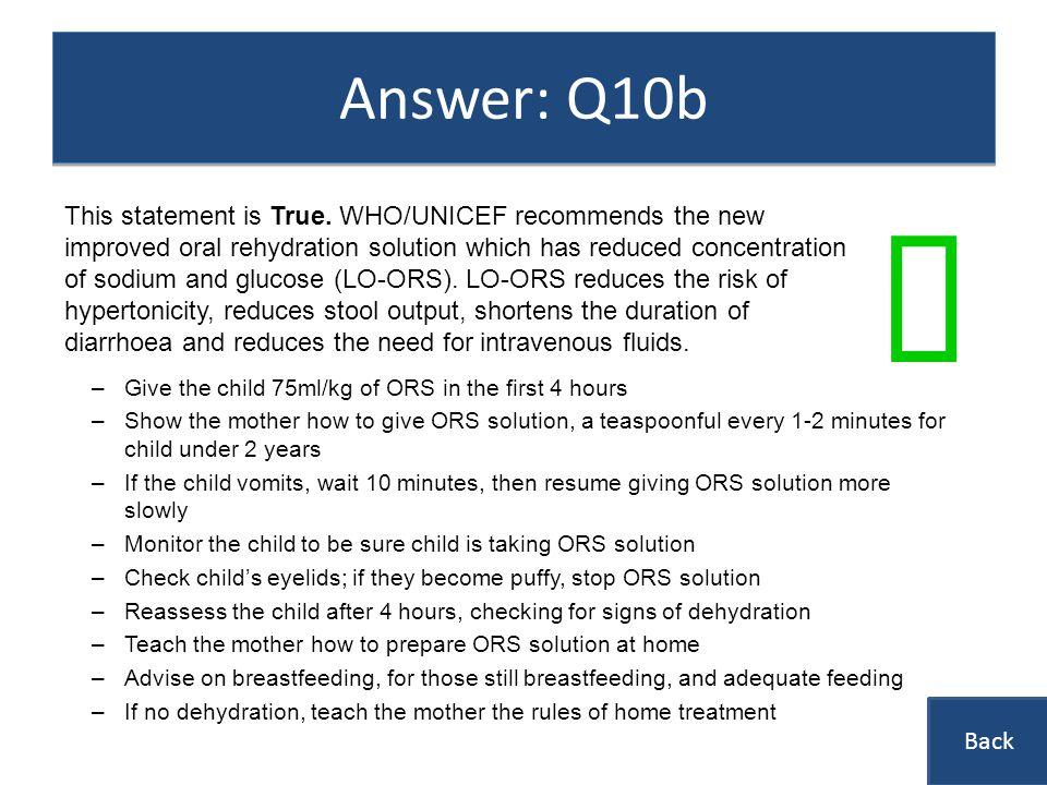 Answer: Q10b ü.
