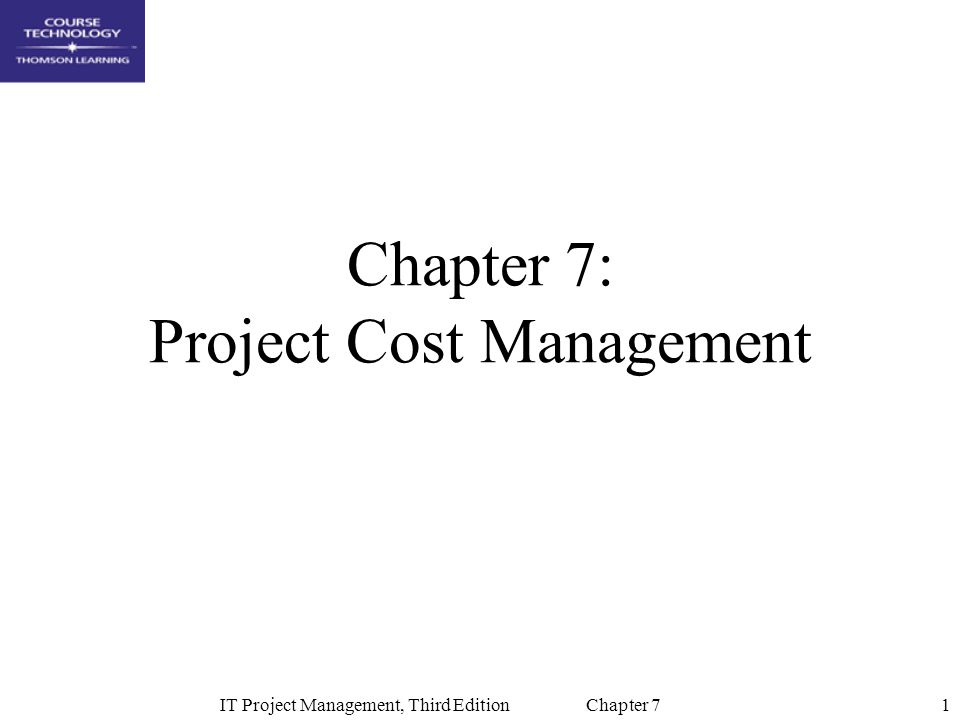 chapter 7 project