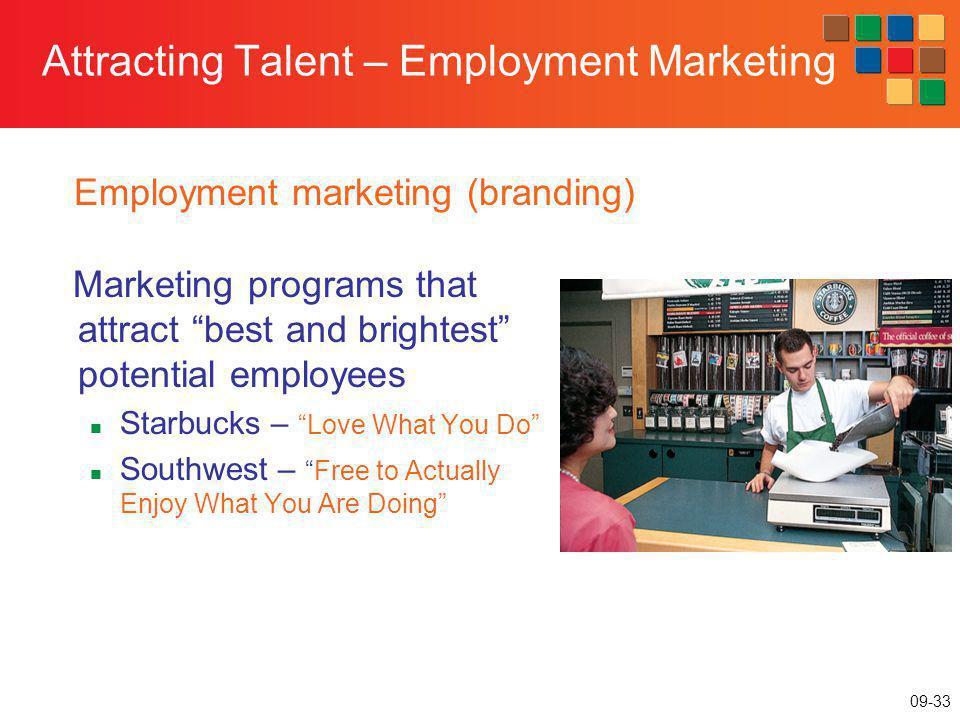 Attracting Talent – Employment Marketing