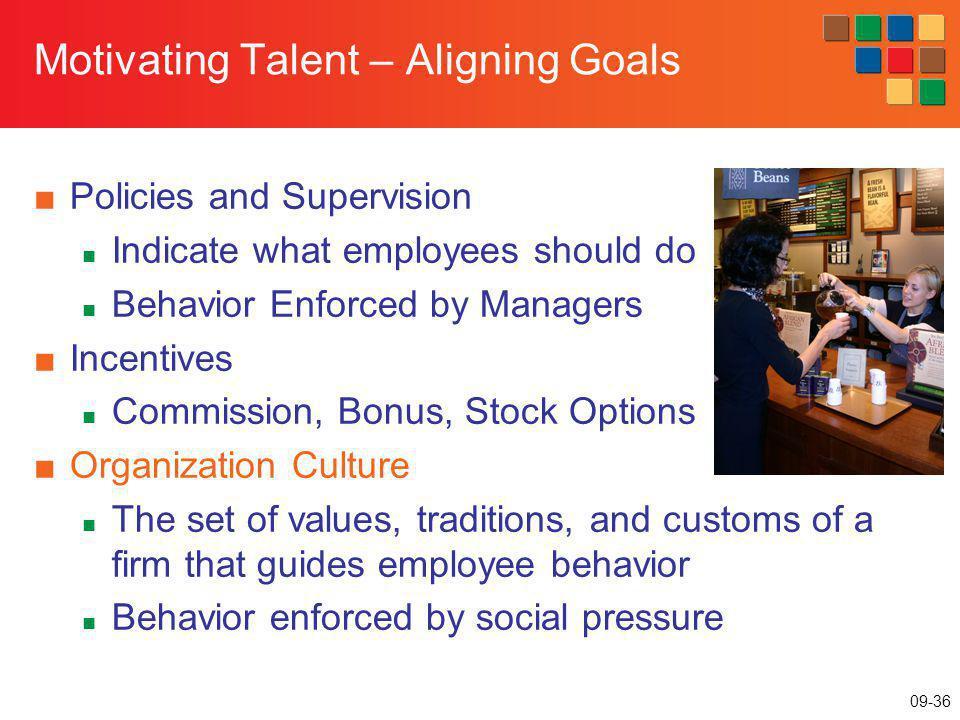 Motivating Talent – Aligning Goals
