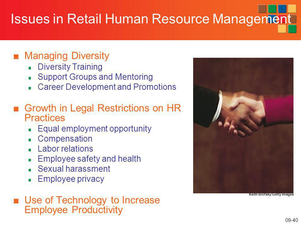 Issues in Retail Human Resource Management