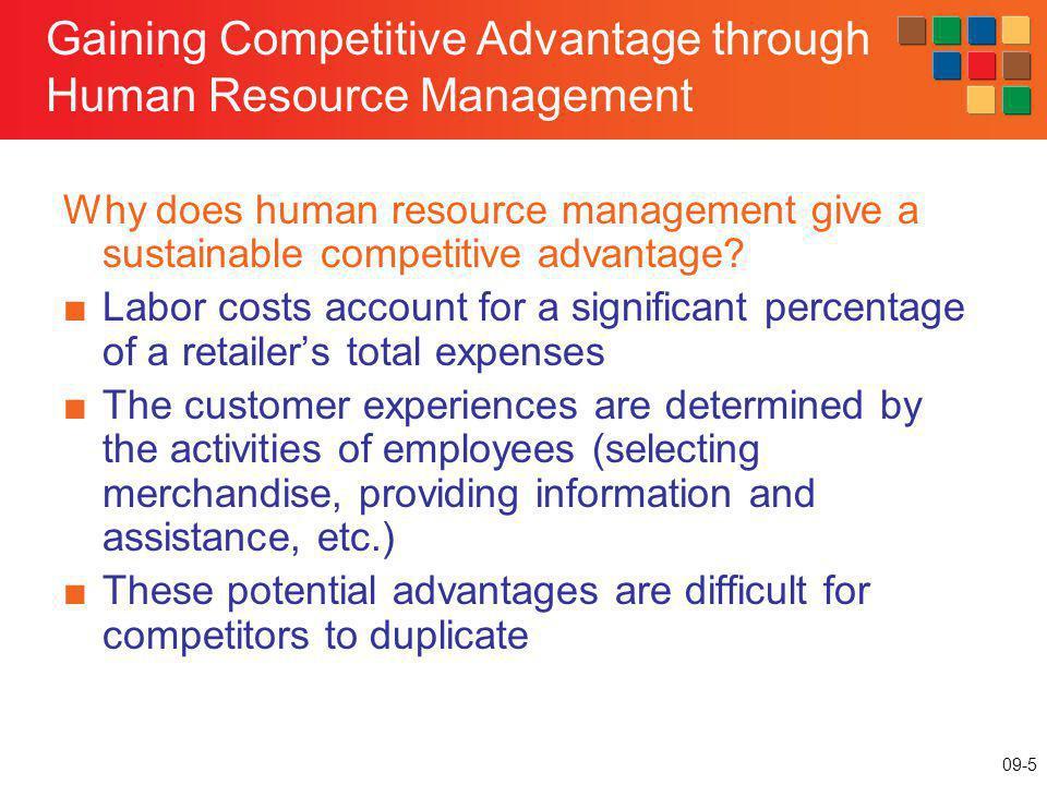 Gaining Competitive Advantage through Human Resource Management
