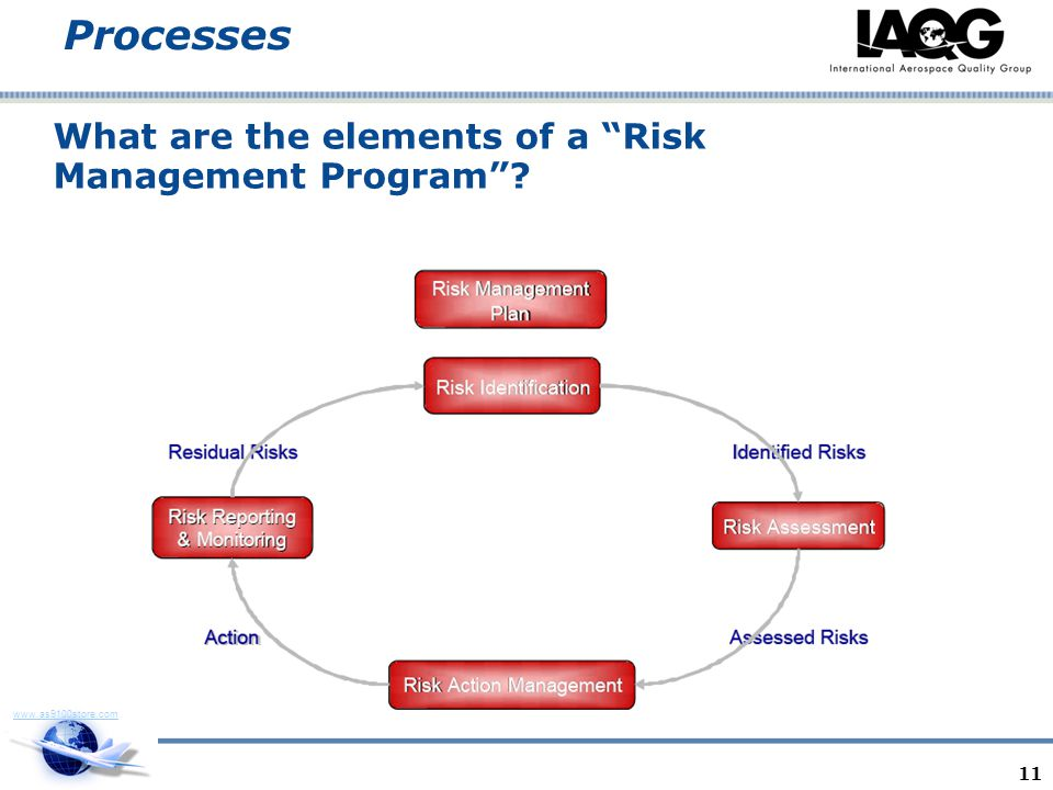 What are the elements of a Risk Management Program