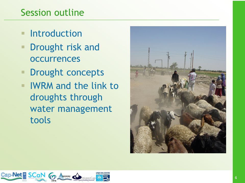 Session outline Introduction. Drought risk and occurrences.