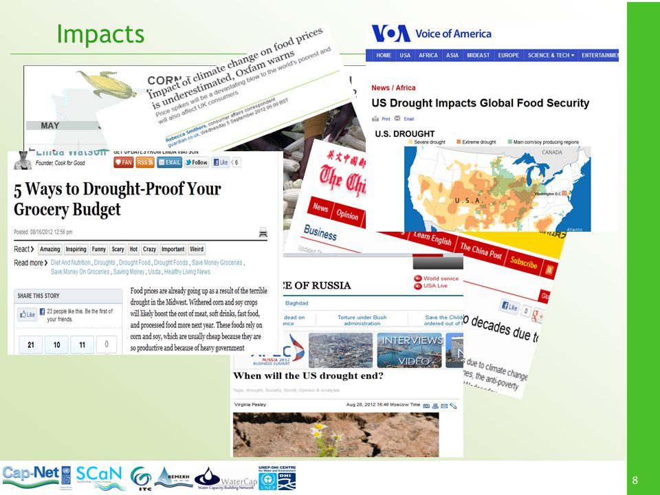 Impacts What other impacts could occur as a result of this drought