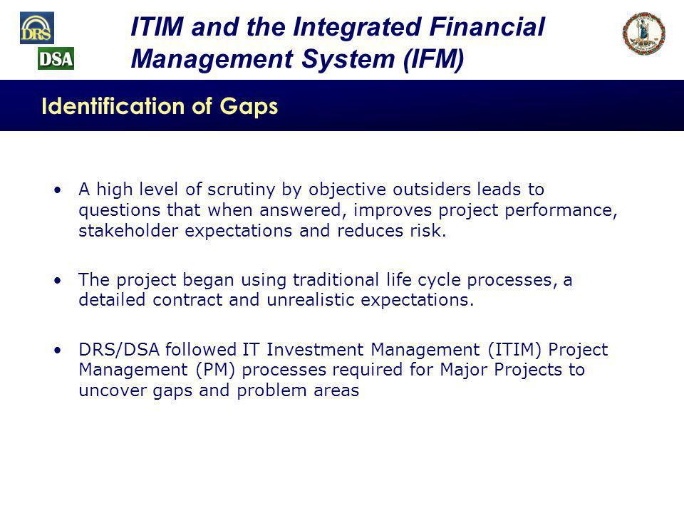 Identification of Gaps