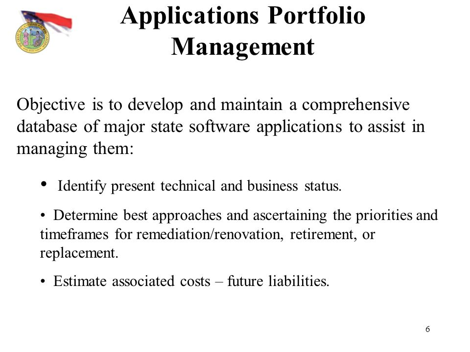 Applications Portfolio Management