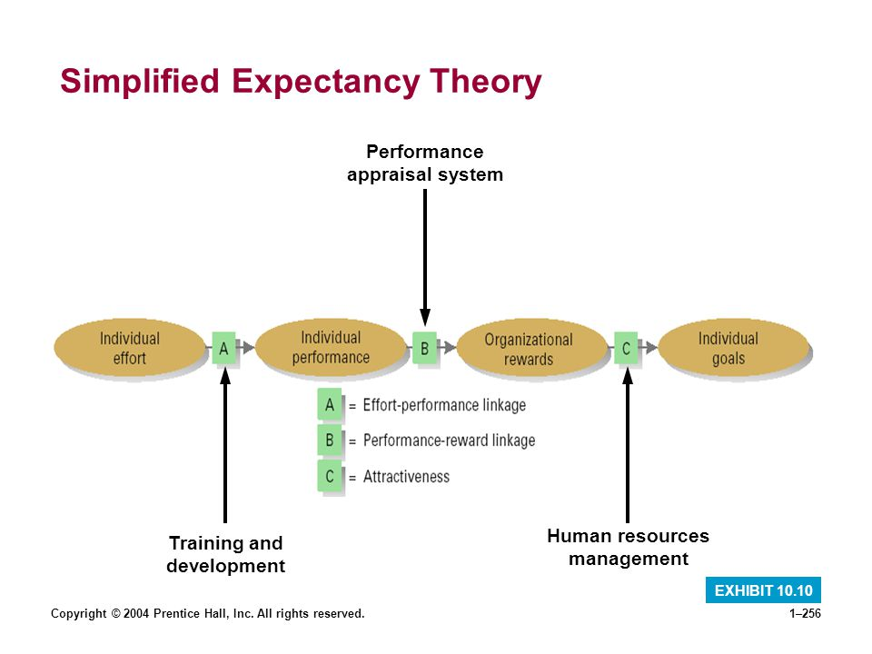 Simplified Expectancy Theory