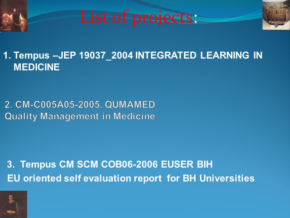 2. CM-C005A , QUMAMED Quality Management in Medicine