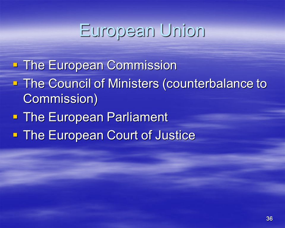 European Union The European Commission