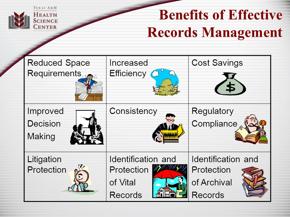 Benefits of Effective Records Management