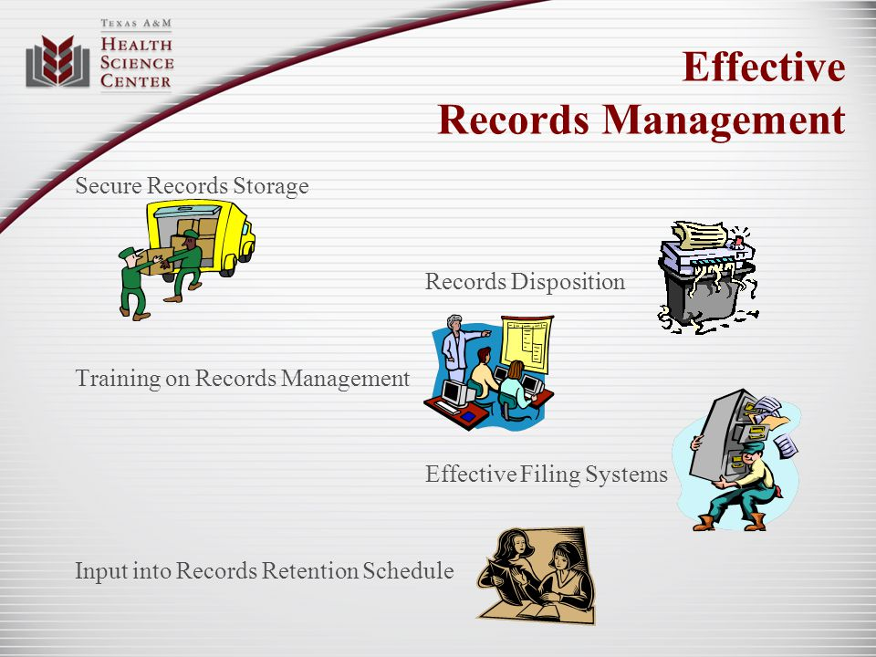 Effective Records Management