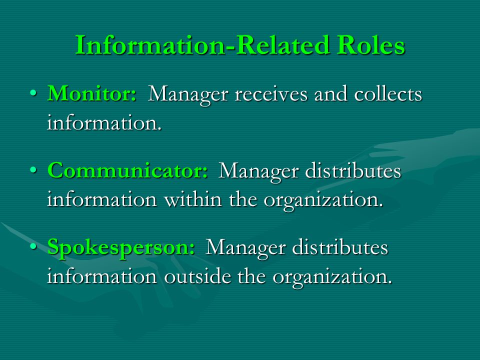 Information-Related Roles