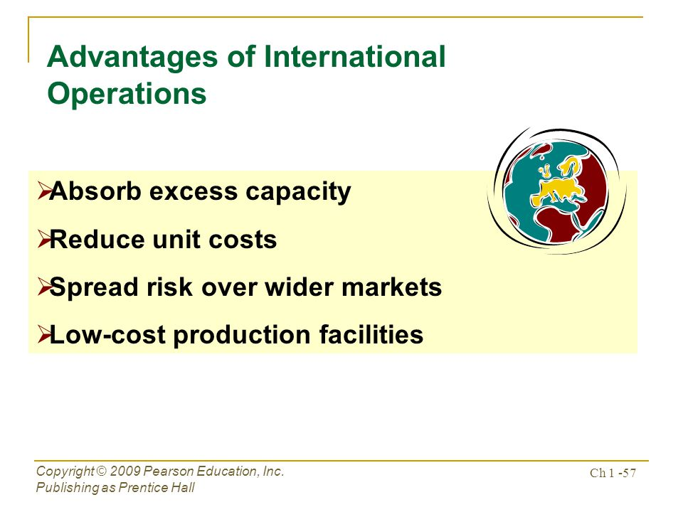 Advantages of International Operations