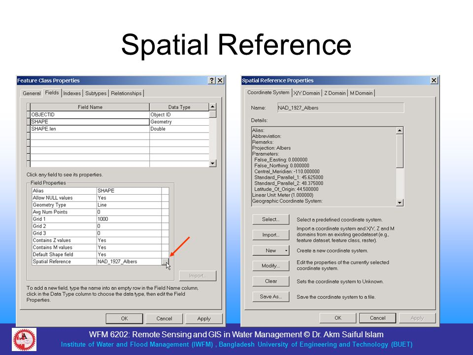 Spatial Reference