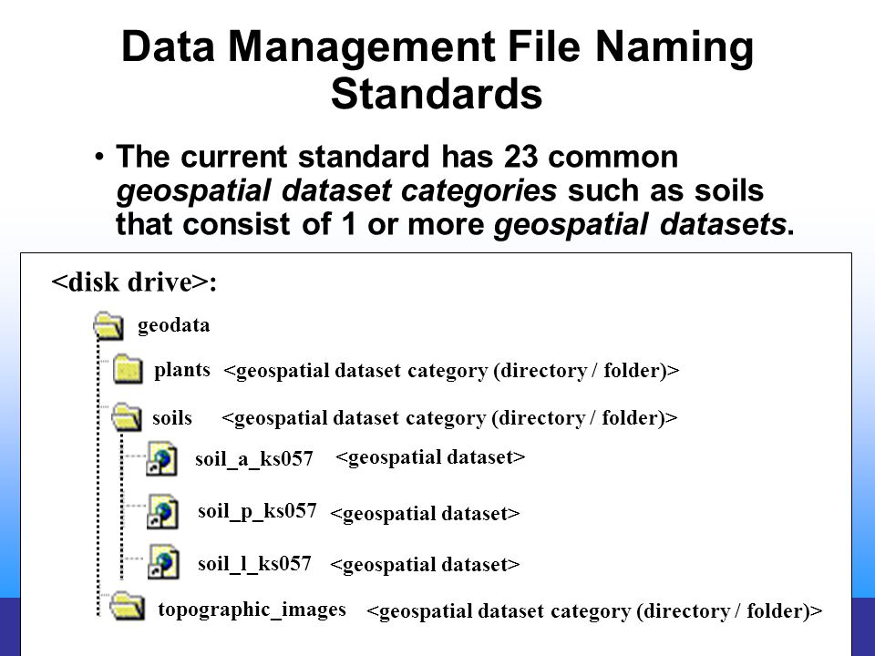 Data Management File Naming Standards