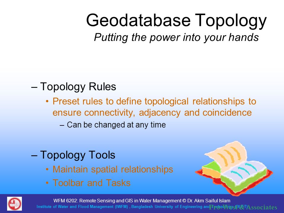 Geodatabase Topology Putting the power into your hands