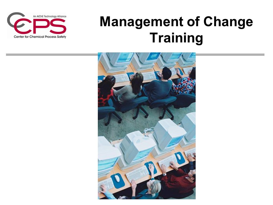 Management of Change Training
