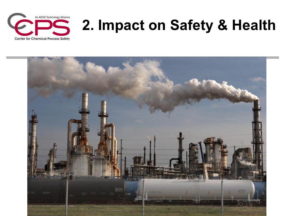 2. Impact on Safety & Health