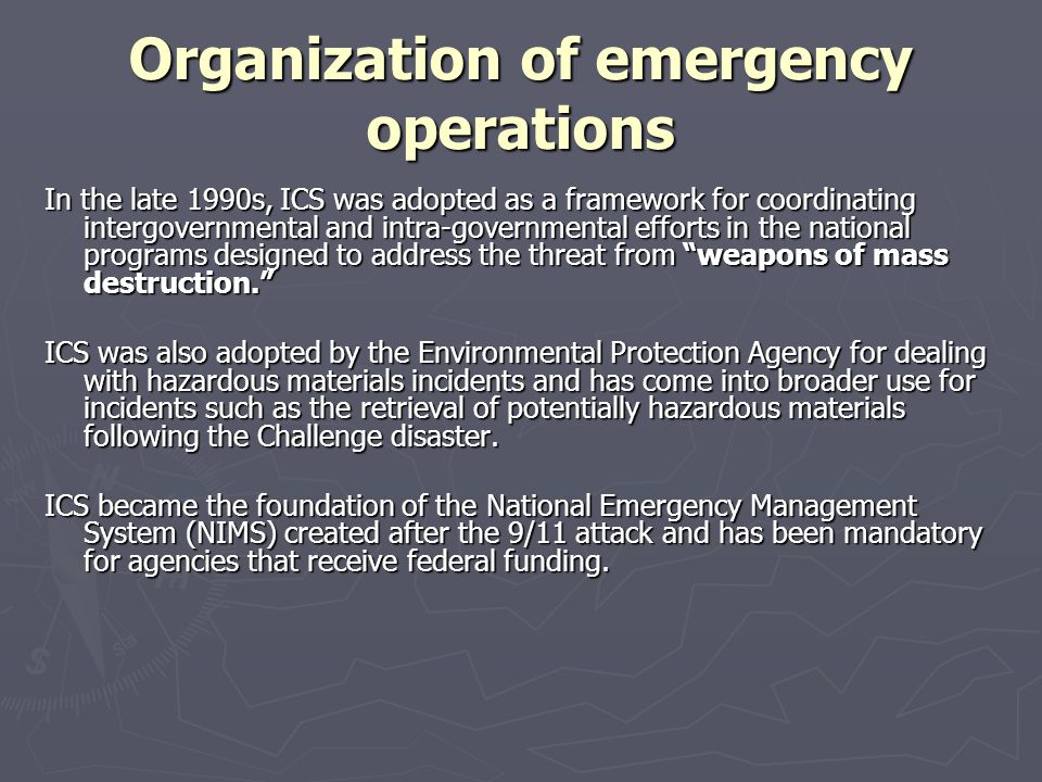 funding for emergency operations The application period for the emergency management performance grant is now open proposals and budgets are due june 22, 2018, and must be submitted.