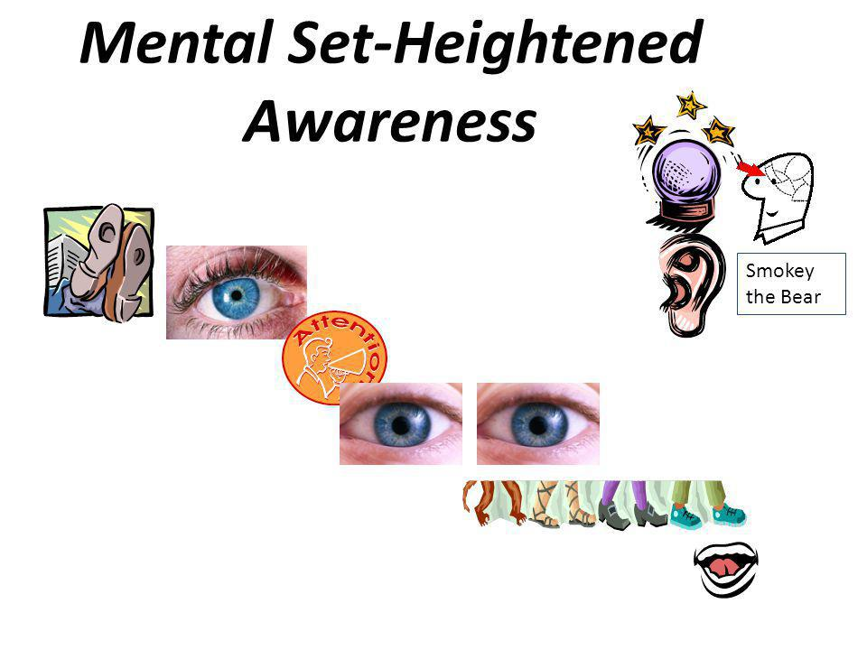 Mental Set-Heightened Awareness