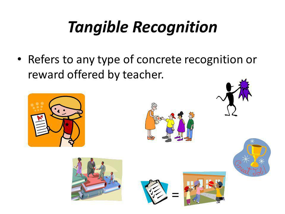 Tangible Recognition =