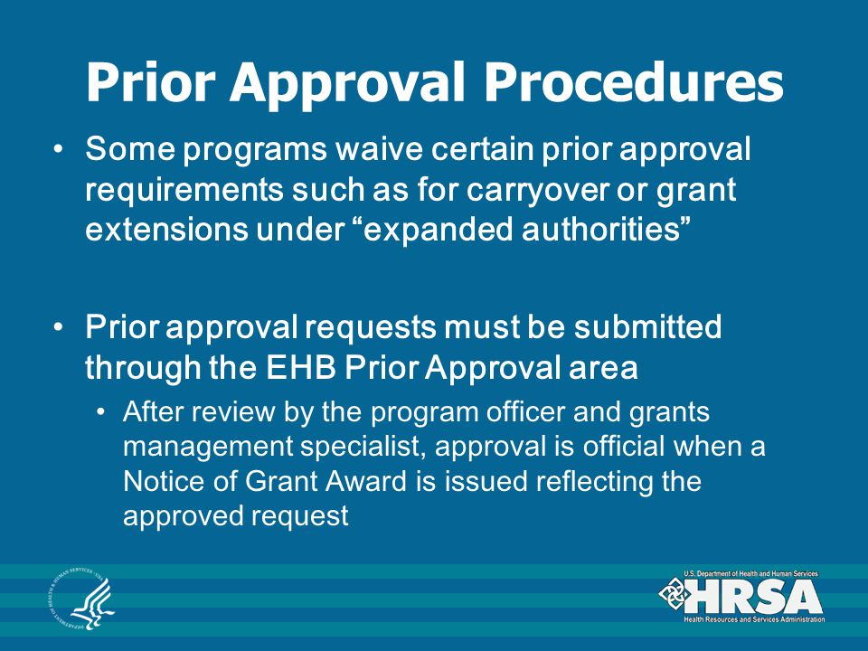 Prior Approval Procedures