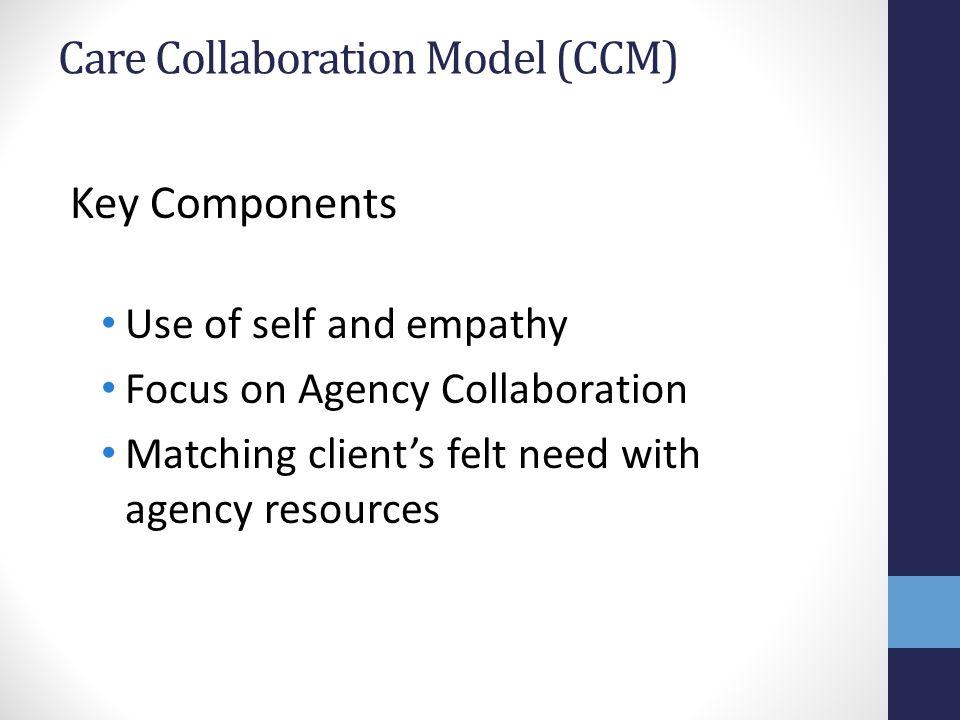 Care Collaboration Model (CCM)