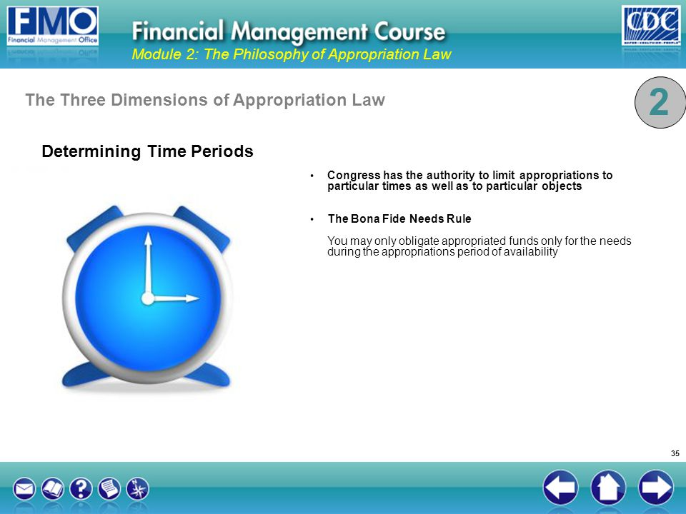 2 The Three Dimensions of Appropriation Law Determining Time Periods