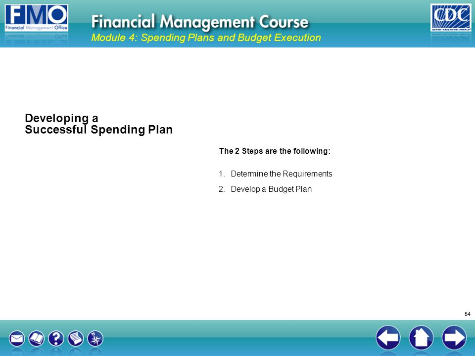 Developing a Successful Spending Plan