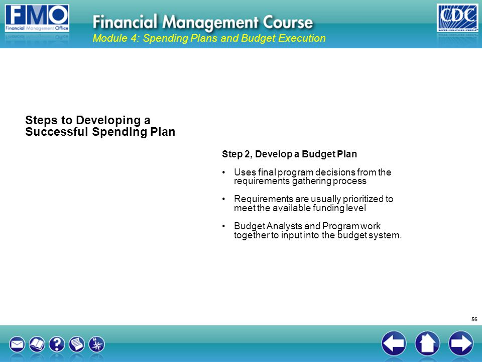 Steps to Developing a Successful Spending Plan