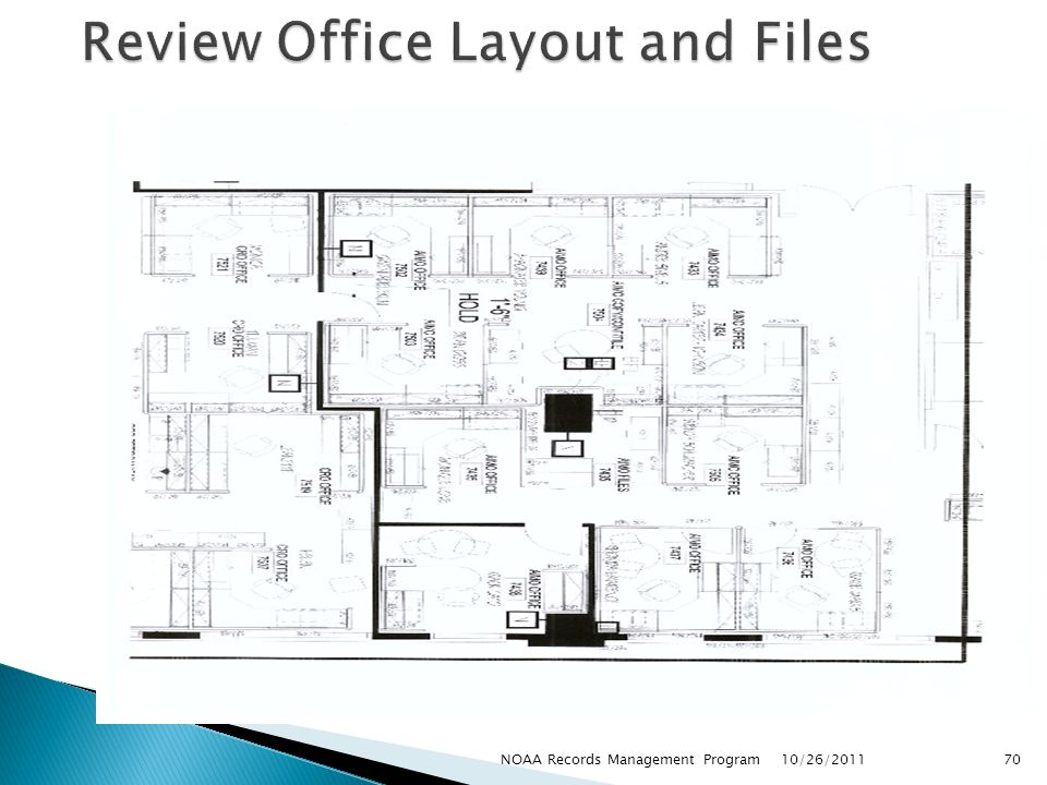 Review Office Layout and Files