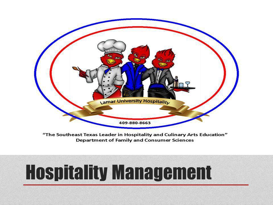 Hospitality Management Ppt Video Online Download