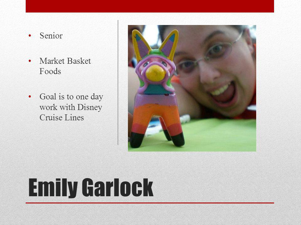 Emily Garlock Senior Market Basket Foods