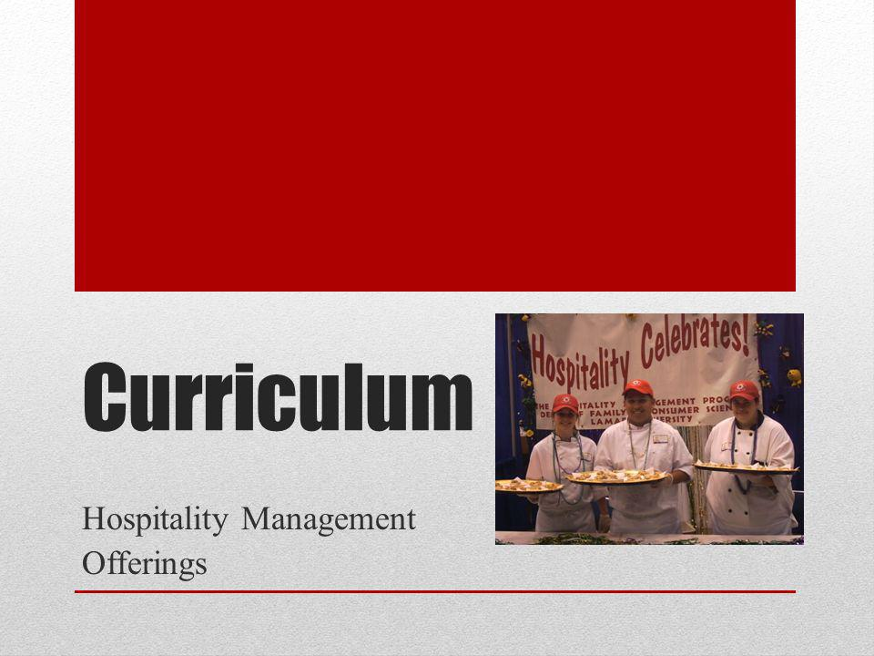 Hospitality Management Offerings