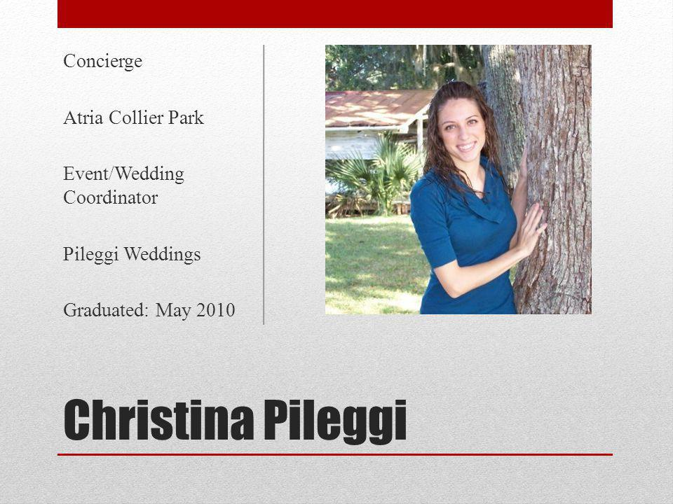 Christina Pileggi Concierge Atria Collier Park