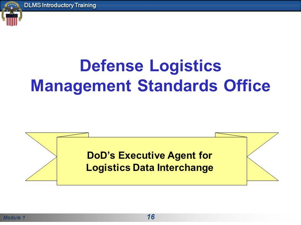 Defense Logistics Management Standards Office