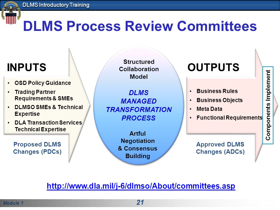 DLMS Process Review Committees