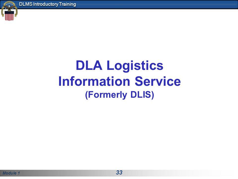 DLA Logistics Information Service (Formerly DLIS)